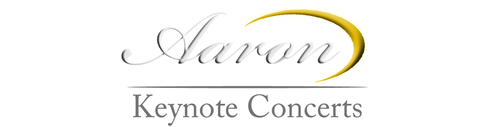 Aaron Stokes Keynote Concerts